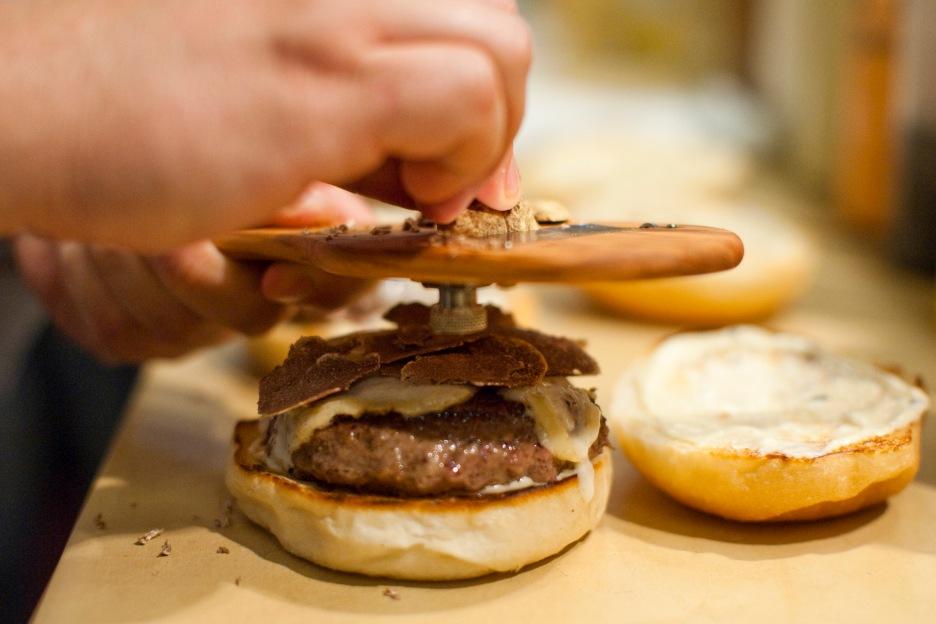 shave Truffle Burger